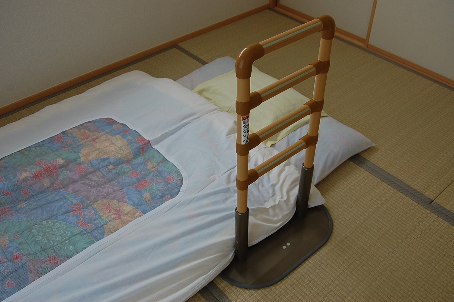 布団の設置例