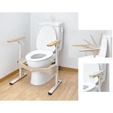 洋式トイレ用フレームSはねあげR-2